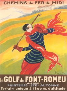 Poster For French Golf by Found Image Press