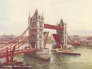 Tower Bridge London 1 by Found Image Press
