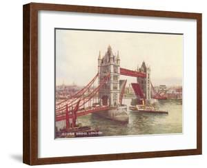 Tower Bridge London 1 by Found Image Press
