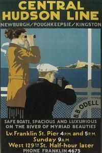 Travel Poster, Central Hudson Line by Found Image Press