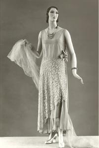 Twenties Female Mannequin in Evening Wear by Found Image Press