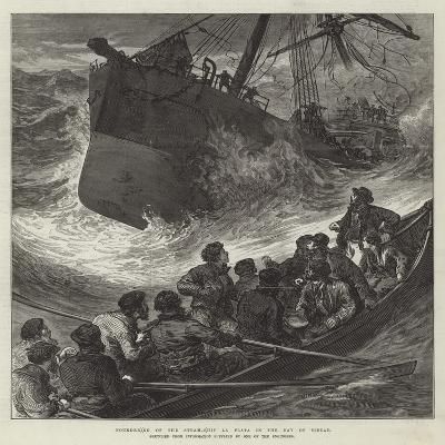 Foundering of the Steam-Ship La Plata in the Bay of Biscay--Giclee Print