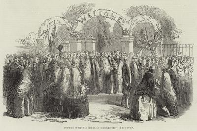 Founding of the New School at Loughborough, the Procession--Giclee Print