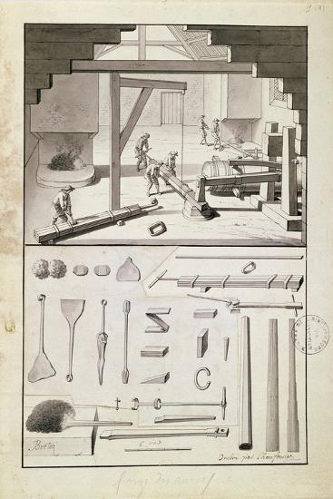 Foundry, Drawing for the 'Description Des Arts Et Métiers'--Giclee Print