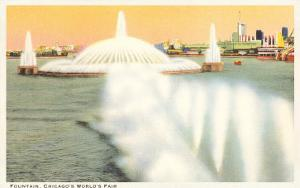 Fountain, Chicago World's Fair