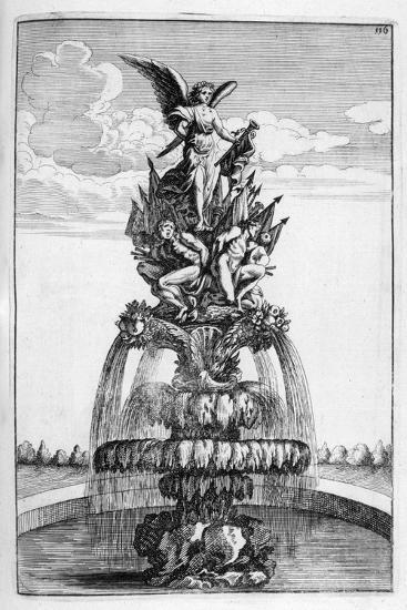 Fountain Design, 1664-Georg Andreas Bockler-Giclee Print