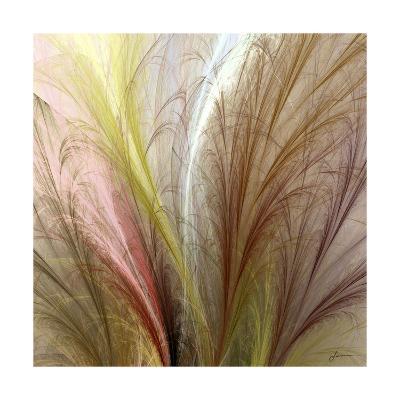 Fountain Grass II-James Burghardt-Art Print