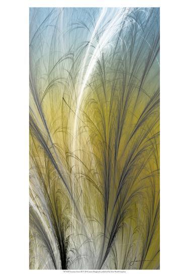 Fountain Grass III-James Burghardt-Art Print