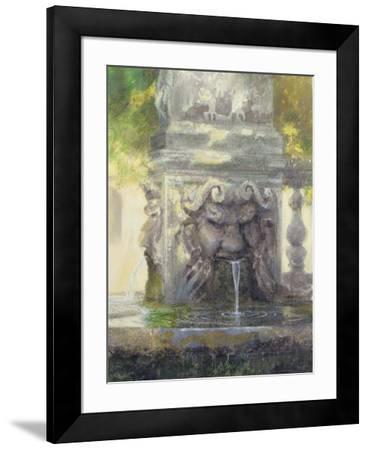 Fountain in the Borghese Gardens, Rome, 1982-Glyn Morgan-Framed Giclee Print
