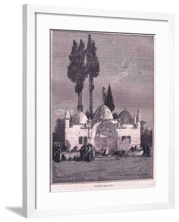 Fountain Near Jaffa--Framed Giclee Print