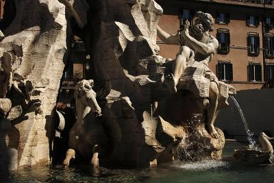 Fountain of Four Rivers, 1651--Giclee Print