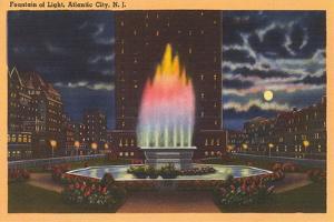 Fountain of Light, Atlantic City