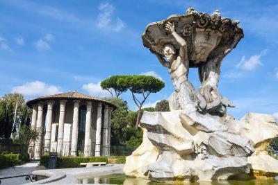 Fountain of the Tritons, Lazio-Nico Tondini-Photographic Print