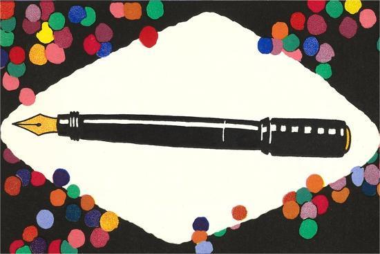Fountain Pen--Art Print