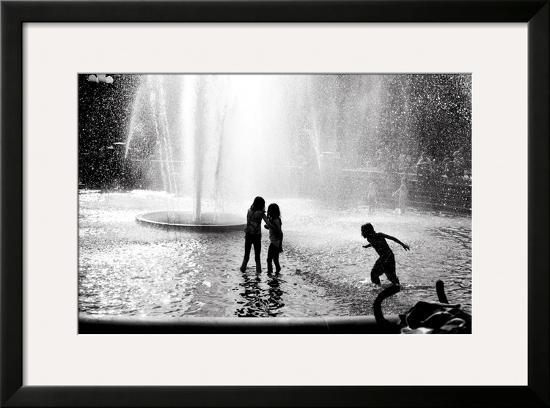 Fountain Play-Evan Morris Cohen-Framed Photographic Print