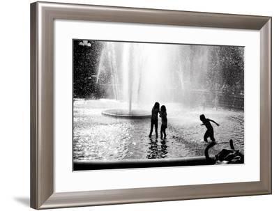 Fountain Play-Evan Morris Cohen-Framed Photographic Print