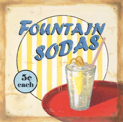 Fountain Sodas-Lisa Alderson-Art Print