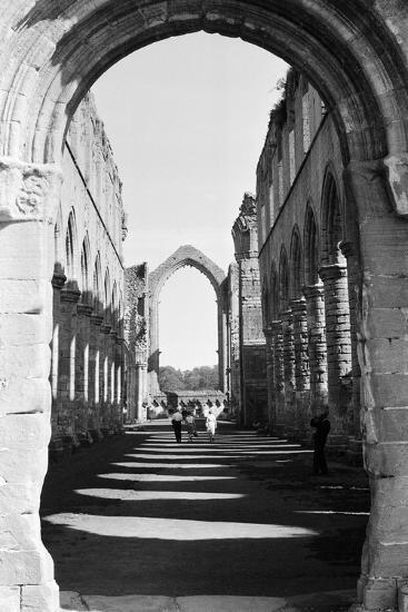Fountains Abbey, Monastery-Staff-Photographic Print
