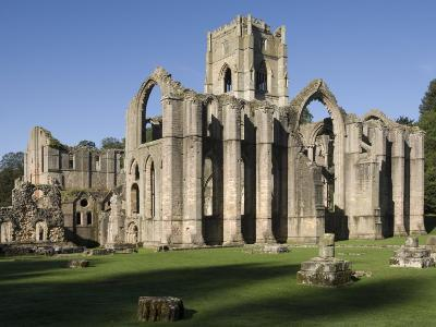 Fountains Abbey, UNESCO World Heritage Site, Near Ripon, North Yorkshire, England, United Kingdom, -James Emmerson-Photographic Print