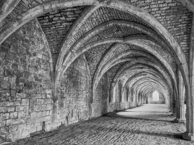 Fountains Abbey Yorkshire England-John Ford-Photographic Print
