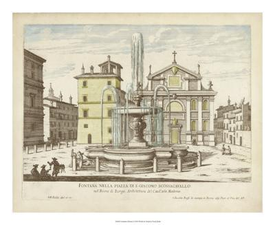 Fountains of Rome I-Vision Studio-Giclee Print