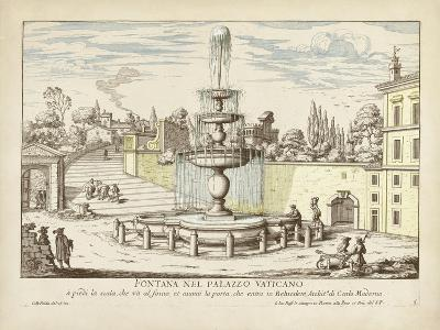 Fountains of Rome III-Vision Studio-Art Print