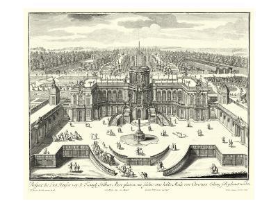 Fountains of Versailles II--Art Print