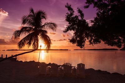 Four Chairs at Sunset - Florida-Philippe Hugonnard-Photographic Print