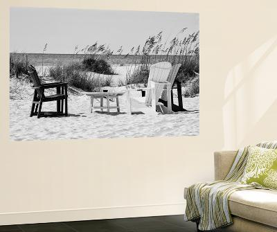 Four Chairs on the Beach - Florida-Philippe Hugonnard-Wall Mural
