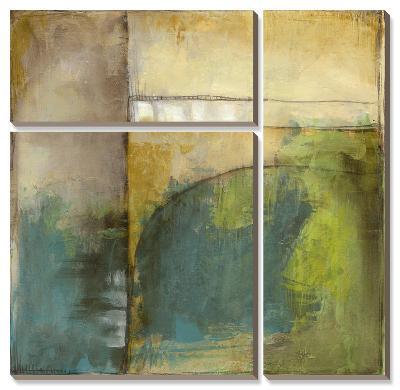 Four Corners I-Jennifer Goldberger-Canvas Art Set