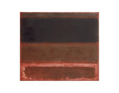 Four Darks in Red, 1958-Mark Rothko-Art Print