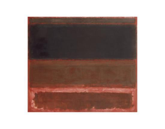 Four Darks in Red, 1958-Mark Rothko-Art Print