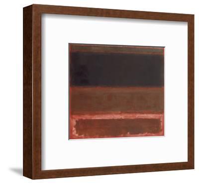 Four Darks in Red, 1958-Mark Rothko-Framed Art Print