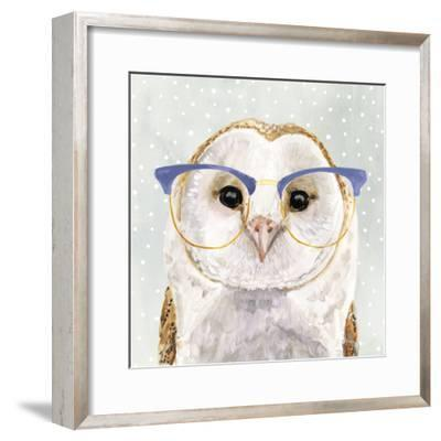 Four-eyed Forester II-Victoria Borges-Framed Art Print