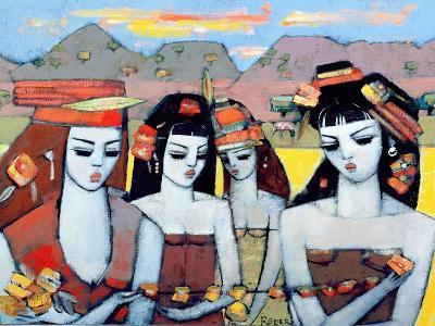 Four from Ys, 2004-Endre Roder-Giclee Print