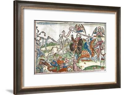 Four Horsemen of the Apocalypse, 1522-King's College-Framed Photographic Print