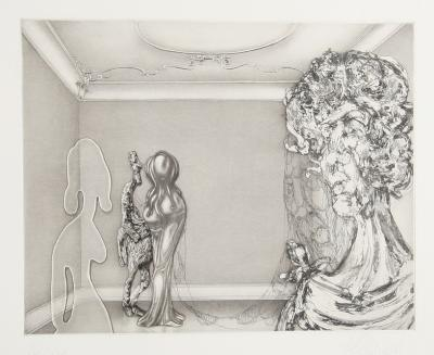 Four Ladies in A Windowless Room-Rauch Hans Georg-Limited Edition
