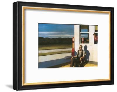 Four Lane road, 1956-Edward Hopper-Framed Premium Giclee Print