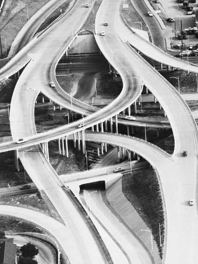 Four-Level Interchange at Turnpike-Philip Gendreau-Photographic Print
