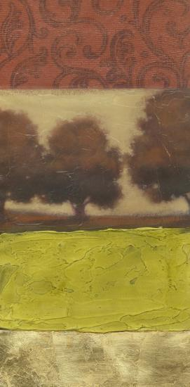 Four-Panel Landscape I--Art Print