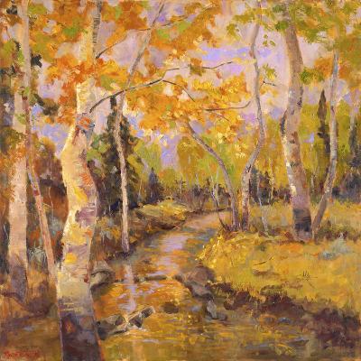 Four Seasons Aspens III-Nanette Oleson-Art Print