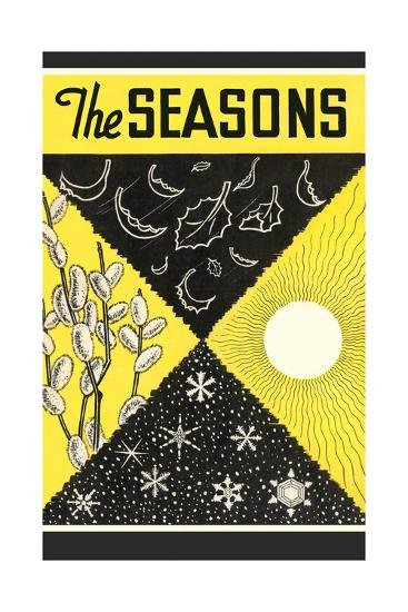 Four Seasons Chart--Giclee Print