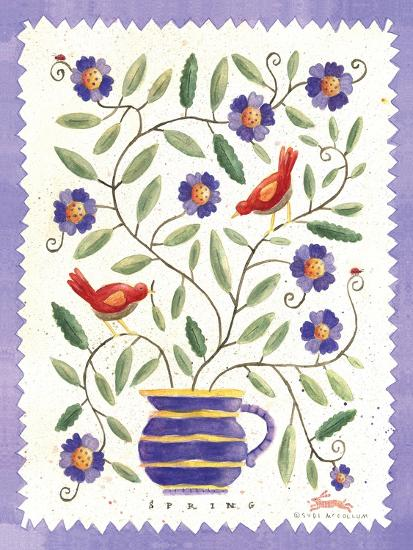 Four Seasons II-Sudi Mccollum-Art Print