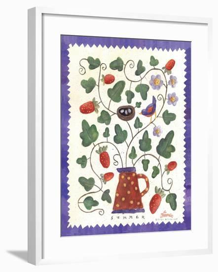Four Seasons III-Sudi Mccollum-Framed Art Print