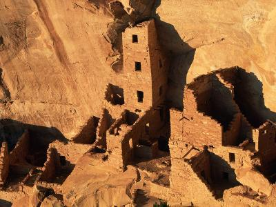 Four Story House in Cliff Palace-Joseph Sohm-Photographic Print