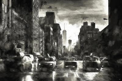 Four Taxis-Philippe Hugonnard-Giclee Print