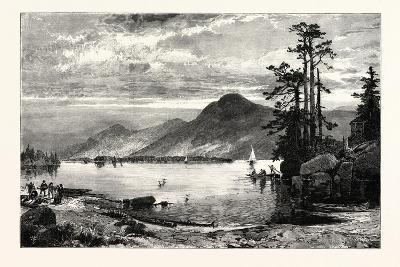Fourteen-Mile Island, Lake George, USA--Giclee Print