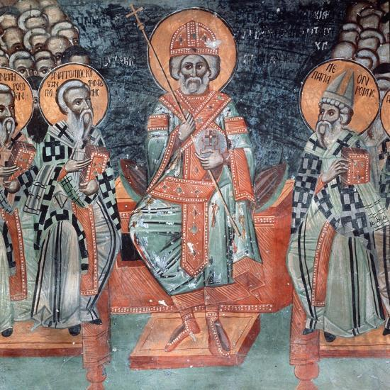 Fourth Ecumenical Council, Held in 451 Ad, at Chalcedon-Symeon Axenti-Giclee Print