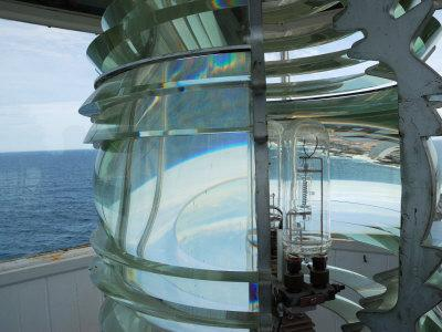 Fourth Order Fresnel Lens in the Pemaquid Lighthouse-Darlyne A^ Murawski-Photographic Print