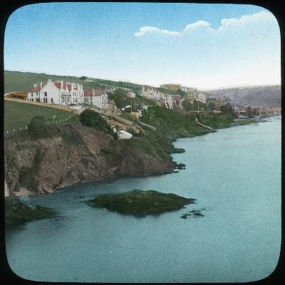 Fowey from the Castle, Cornwall, Late 19th or Early 20th Century--Giclee Print